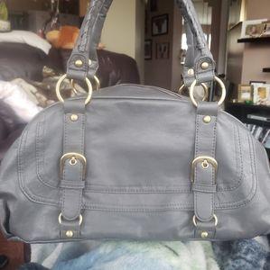 Vegan Leather Cabrelli & Co. Grey Handbag